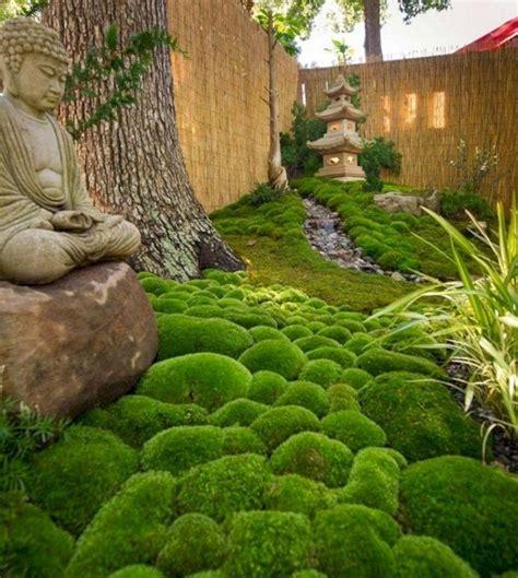 Japanischer Garten Zaun by Kleinen Japanischen Garten Anlegen Hinterhof Moos Bambus