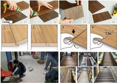 Uniclic Laminate Flooring Formaldehyde by Waterproof Uniclic Click System Wpc Pvc Interlocking Vinyl