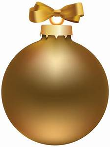 Christmas Ornaments clipart gold - Pencil and in color ...