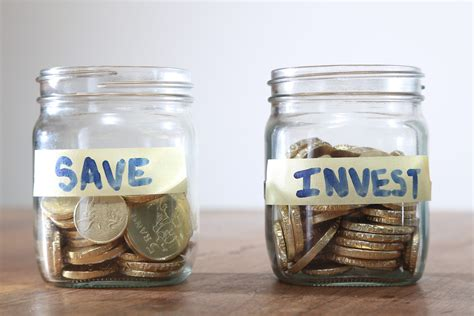 Savings Vs Investing