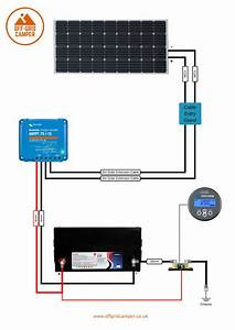 Wiring Diagram  Solar Install 100w Panel With Mppt