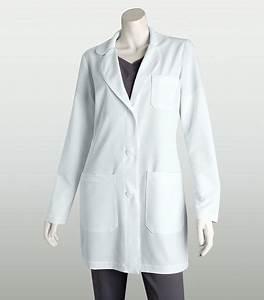 "Grey's Anatomy Signature Women's 32"" 3 Pocket White Lab ..."