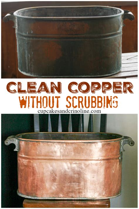 clean  polish copper naturally   clean copper cleaning hacks deep cleaning tips