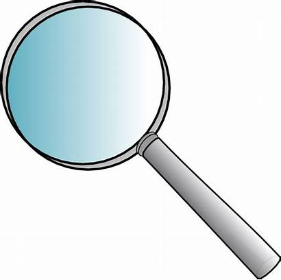 Glass Magnifying Clip Clipart Clker