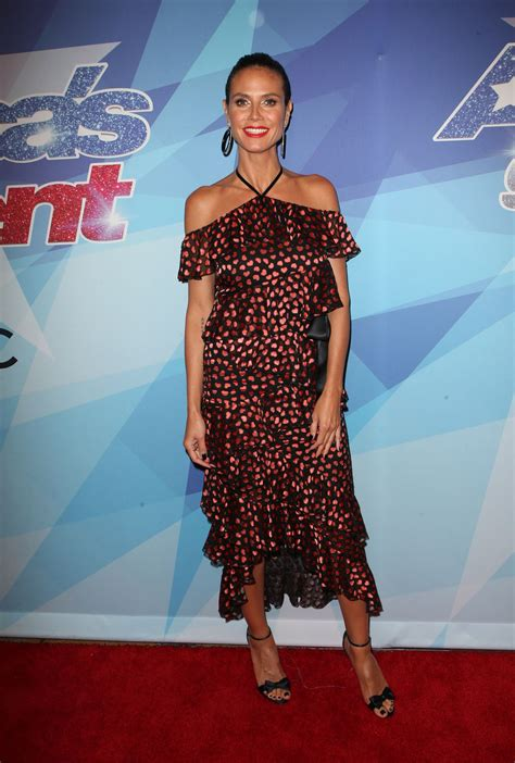 Heidi Klum America Got Talent Season Live Show