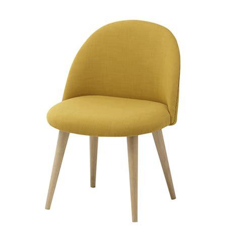 chaise mauricette jaune maison du monde kidzcorner