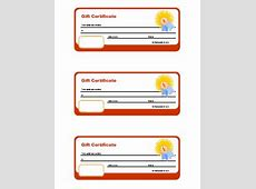 Classroom Gift Certificate Freeology