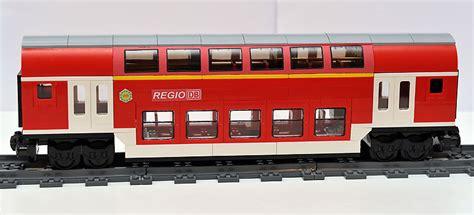 doppelstock waggon version  steuerwagen lego