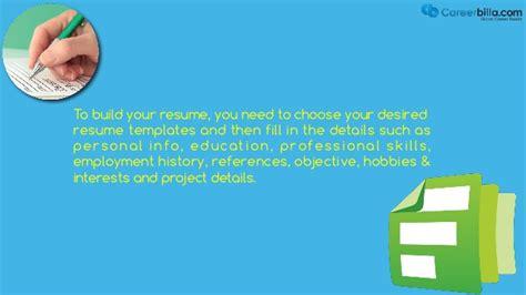 Free Resume Builder Tool by Free Resume Builder Tool