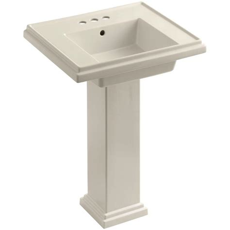 kohler memoirs ceramic pedestal combo bathroom sink in