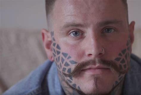 Man With Face Tattoo Speaks Out About How His Life Has
