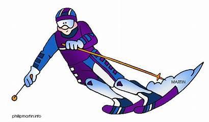 Sports Ski Skiing Clipart Clip Colorado Sport