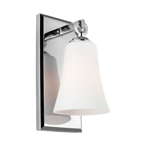 feiss monterro 1 light chrome wall sconce vs23701ch the