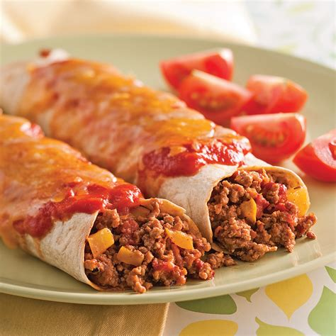 cuisine veau enchiladas au veau recettes cuisine et nutrition