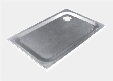 piatto doccia acciaio piatto doccia in acciaio sti a blocco zepa sti