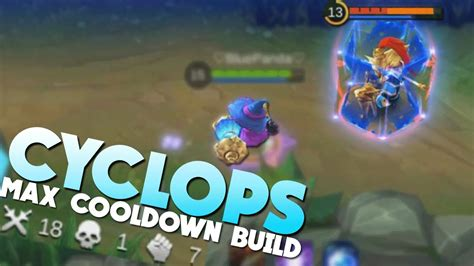 mobile legends cyclops max cooldown insane gameplay