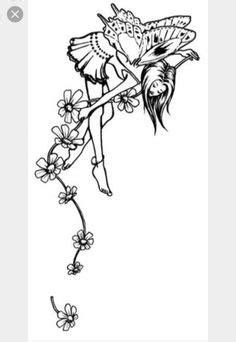 15 Best Fairy tattoos images | Feen tattoo, Skizzen, Zeichnungen