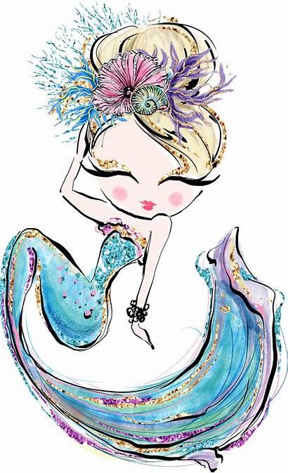 Mermaid Mermaids Drawings Wallpapers Adeline Drawing Artwork