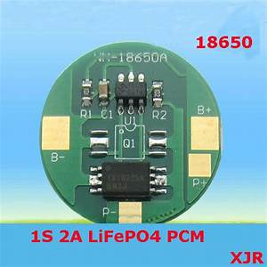 1s 2a 3 6v Lifepo4 Bms  Pcm  Pcb Battery Protection Circuit