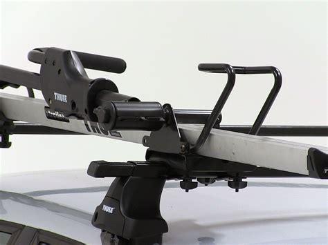 thule sidearm wheel mount bike carrier roof mount thule