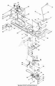 Mtd 13ak608g129  2000  Parts Diagram For Pto With Dual