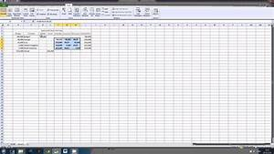 Excel  Waterfall Chart Tutorial 1