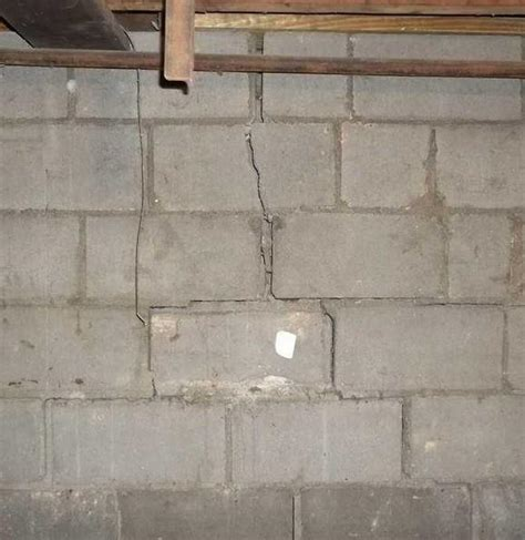Foundation Repair   Morgantown Foundation Fix Up   Cracked