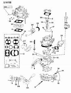 1989 Jeep Wrangler Carburetor  U0026 Component Parts