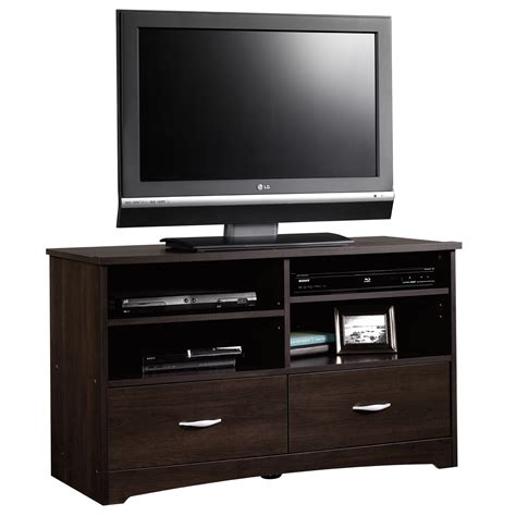 cabinet with tv rack beginnings tv stand 413045 sauder