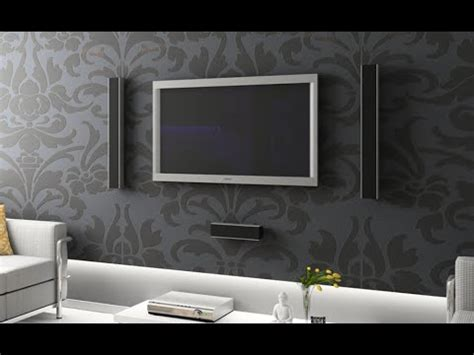 Decorating Ideas For Wall Mounted Tv by Tv Wall Mount Stand Decoration Ideas