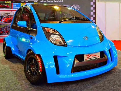 Ja Motorsports' Tata Super Nano Hatchback Car Is A 230 Bhp