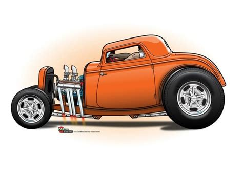 images  hot rod cartoons  pinterest cars