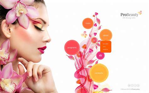 beauty salon website templates  premium templates