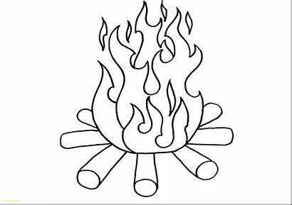 Fire Coloring Pages Forest Printable Getcolorings
