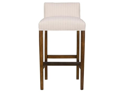 striped upholstered beige low back counter bar stool