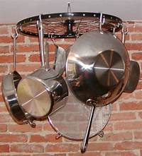 pot and pan hanging rack Kitchen storage ideas: How to Make Your Own Pot Rack