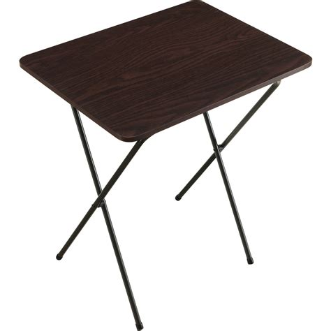menards lifetime folding table corner living room table