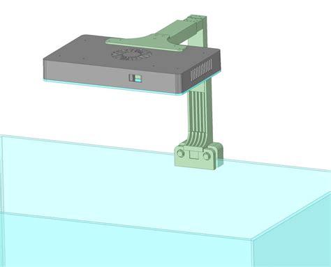 mount prototype   reefi led duo extremedeluxe reefi lab