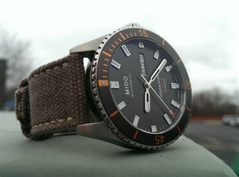 Mido Ocean Star Captain V Black Dial (steel) Vs Grey Dial