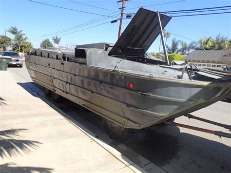 Ww11 Duck Boats For Sale by 1942 Gmc Dukw Ww2 Hibious 6x6 Truck Boat