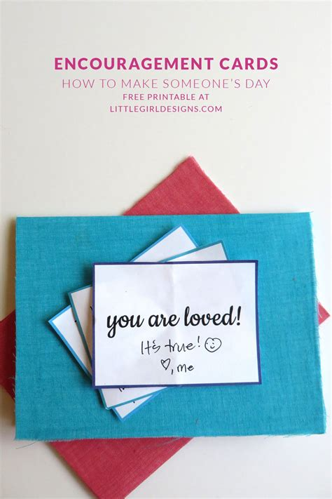 encouragement cards    printable letter writing