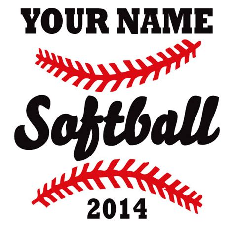 softball t shirt designs how to create a softball tshirt design vector