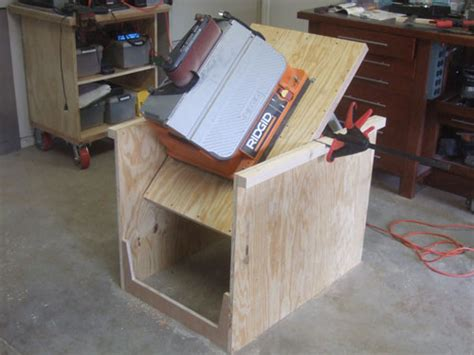 flip top tool stand plans diy   large fence