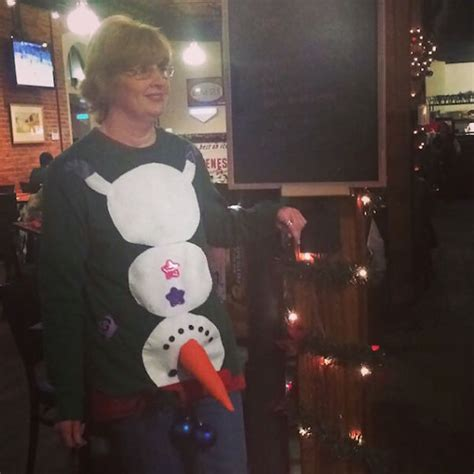 christmas sweaters ever ugly ugliest funny down upside weird very adult snowman terrible festive collection bored pleated panda jeans tacky