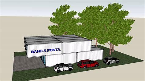 posta uffici container uffici container casa banco posta infopoint