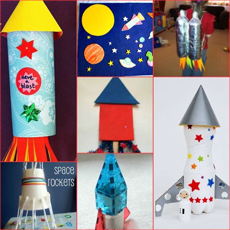 space rocket craft ideas rocket ship crafts for 5462