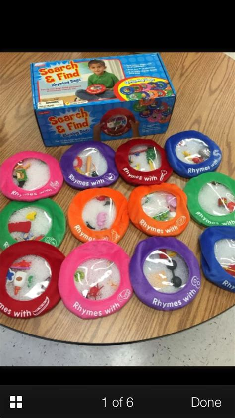 search  find bean bags  rhyming words  images