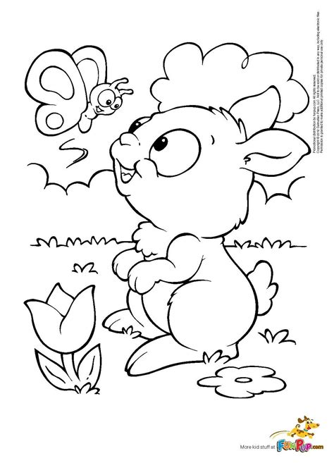 butterfly bunny coloring page bunny coloring pages