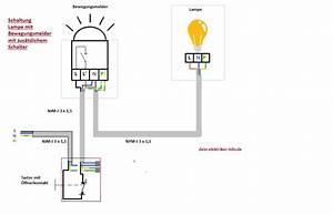 Elektrische Fußbodenheizung Anschließen : lampe mit bewegungsmelder anschlie en clevere elektroinstallation und haustechnik ~ Buech-reservation.com Haus und Dekorationen