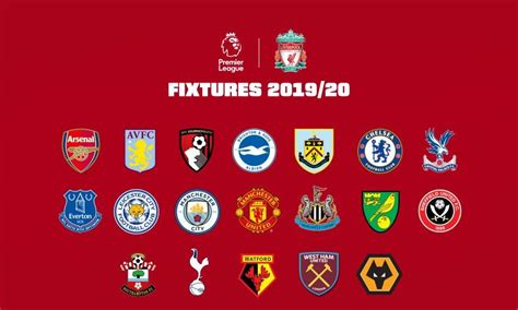 Premier league scores, results and fixtures on bbc sport, including live football scores, goals and goal scorers. English Premier League 2019-20 Table & Standings EPL Teams ...